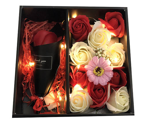 Подарочные наборы мыла из роз с розой XY19-80 181885, фото 2