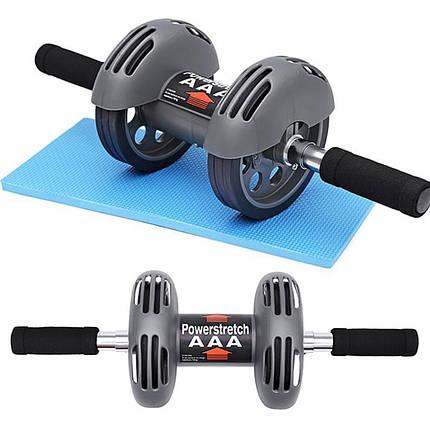 Тренажер - гимнастический ролик с возвратом Power Stretch Roller 182593, фото 2