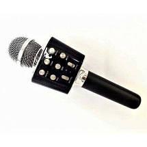 Беспроводной микрофон караоке блютуз WS-1688 Bluetooth Wster Черный 152583, фото 3