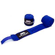Бинты боксерские (2шт) хлопок с эластаном VENUM VL-5778-3,5 Синий