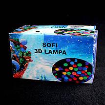 Светодиодная гирлянда Sofi 3D Lampa свечка 200 Led 20 м (2mix) 132912, фото 2