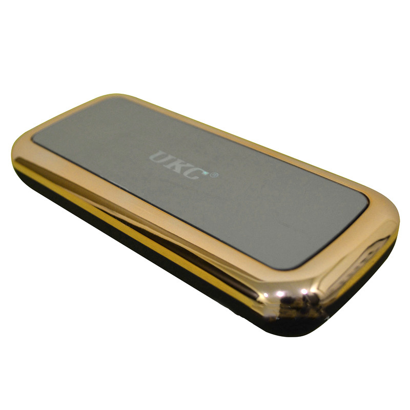 Внешний аккумулятор зеркало Power Bank Mirror 50000 mAh золото 150176