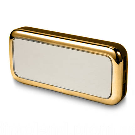 Внешний аккумулятор зеркало Power Bank Mirror 50000 mAh золото 150176, фото 2