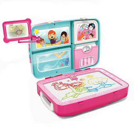 Обучающий набор для рисования Backpack packing 3 в 1 Розовый 183817, фото 2