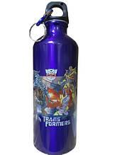 Туристический детский термос фляга с карабином Disney синий 183942