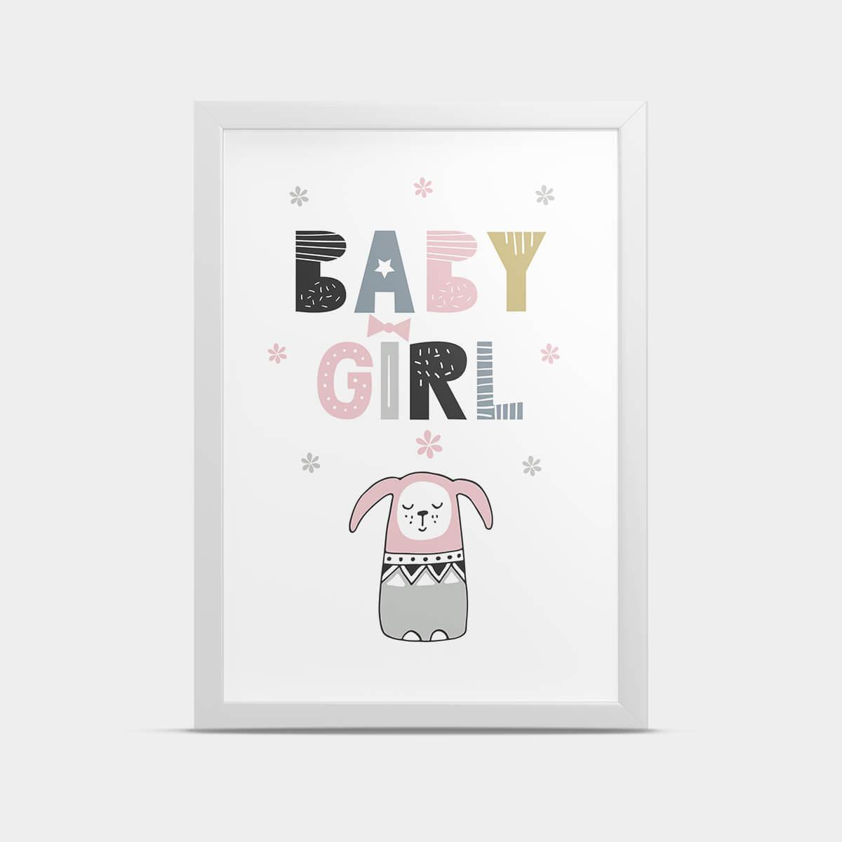 Постер Baby girl 30*40 см