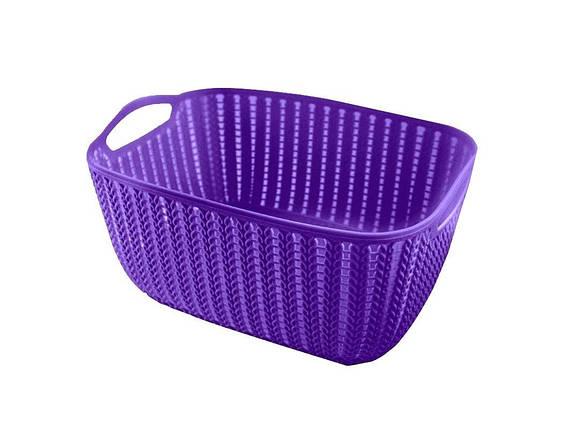 Корзинка для полотенец плетение 2 л Bathlux Flor de clasico 70275, фото 2
