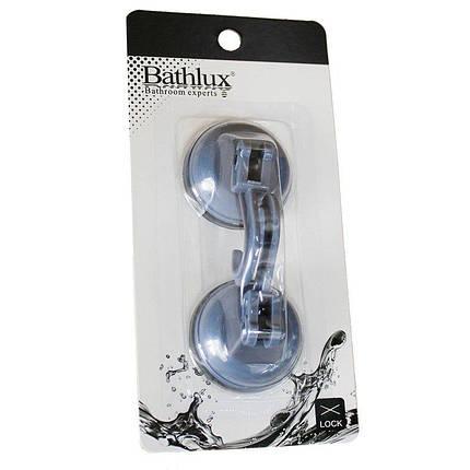 Крючок для полотенца на вакуумной присоске 2шт. Bathlux Fuegos artificiales 90220, фото 2