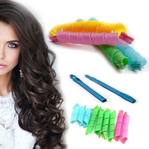 Бигуди спиральные набор 18шт Hair WavZ 50 см 132715