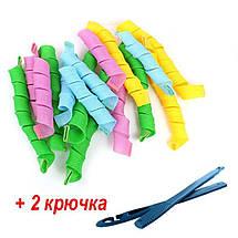 Бигуди спиральные набор 18шт Hair WavZ 50 см 132715, фото 2