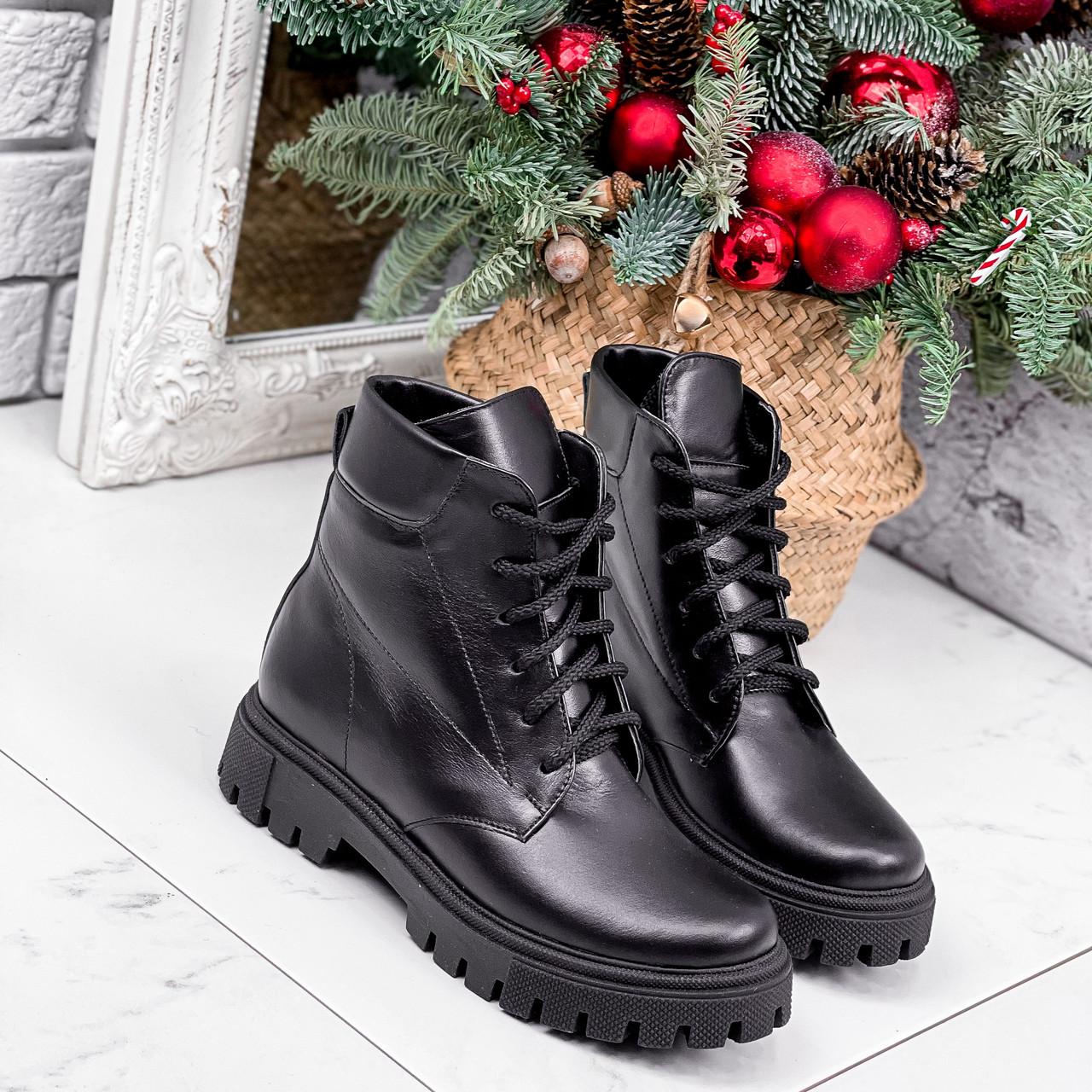 Ботинки женские Benita кожаные ЗИМА 2662