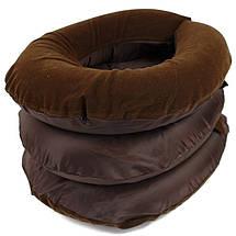 Надувная подушка для шеи ортопедический воротник Ting Pai 139274, фото 3