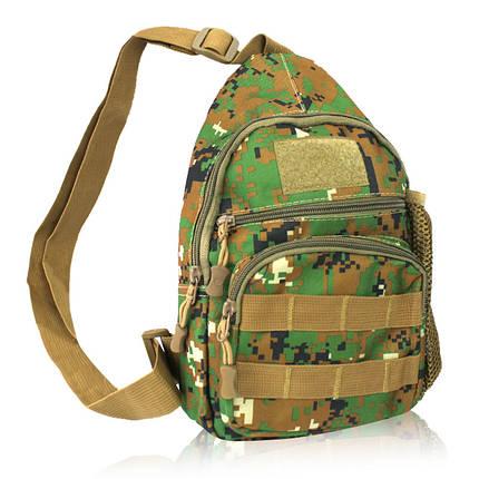 Сумка рюкзак через плечо дорожная камуфляж 150714, фото 2