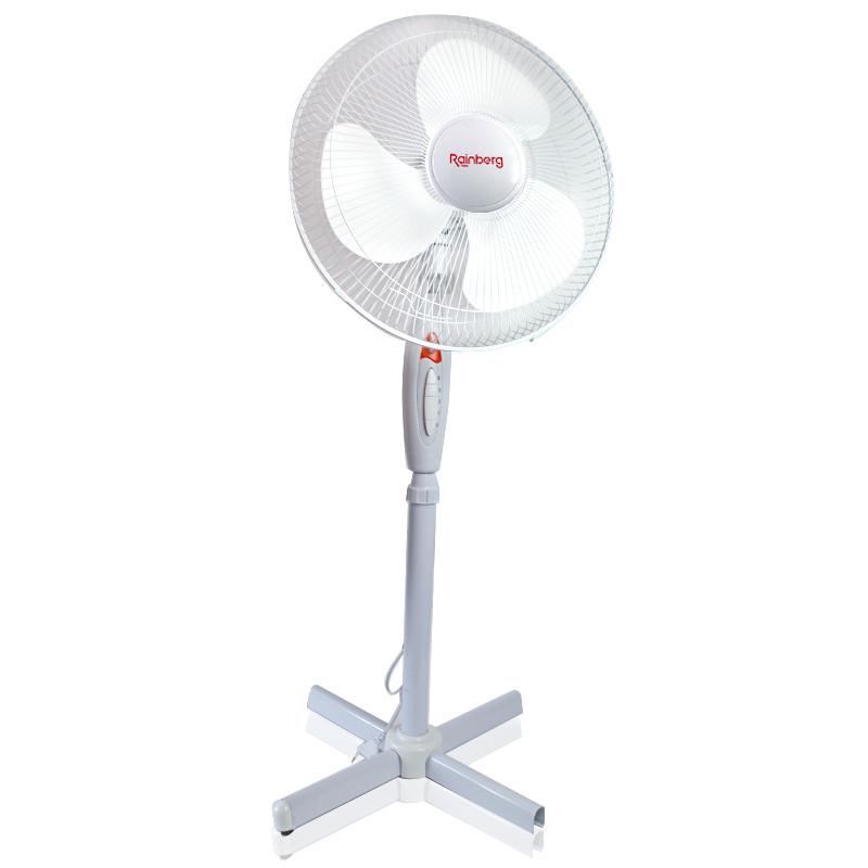Вентилятор напольный Rainberg FS 1619 белый 150948