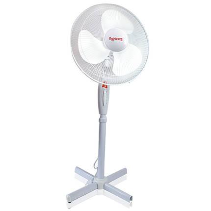 Вентилятор напольный Rainberg FS 1619 белый 150948, фото 2