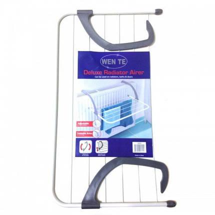 Съемная сушилка для одежды на батарею 6838 см Fold Clothes Shelf большая 154193, фото 2