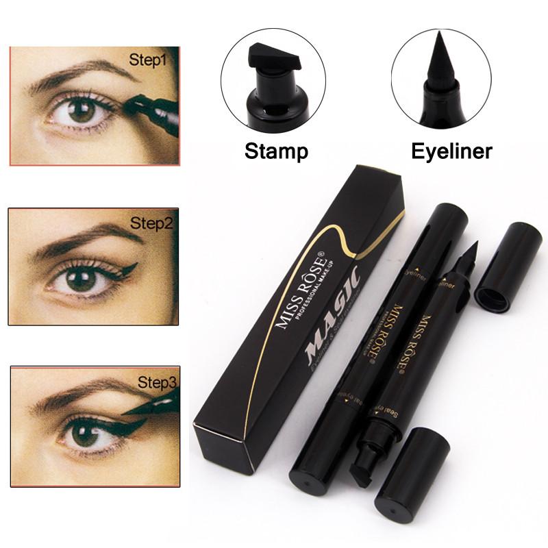 Двухсторонняя подводка штамп для глаз Magic Eyeliner Seal eyeliner Aiyi 154166