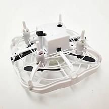 Дрон ручної літаючий безпілотник для початківців із запобіганням перешкод для дітей Airset білий 154442, фото 2