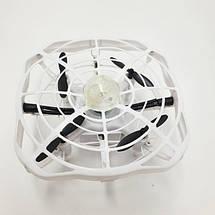 Дрон ручной летающий беспилотник для начинающих с предотвращением препятствий для детей Airset белый 154442, фото 2