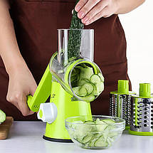 Овощерезка мультислайсер для овощей и фруктов Kitchen Master 133053, фото 3
