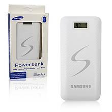 Портативный Powerbank 20000mAh 3 Usb с экраном белый