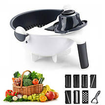 Овощерезка многофункциональная Wet Basket Vegetable Cutter 149738, фото 2