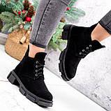 Ботинки женские Ryan черные Зима 2658, фото 2