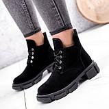 Ботинки женские Ryan черные Зима 2658, фото 3