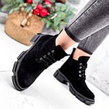 Ботинки женские Ryan черные Зима 2658, фото 5
