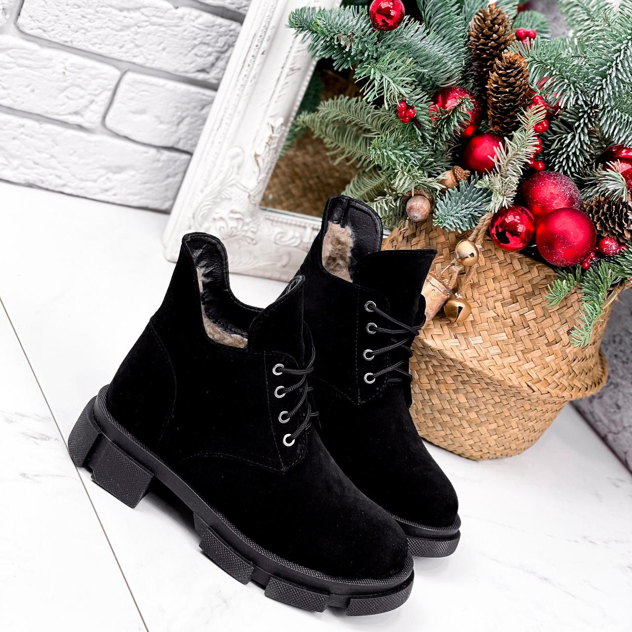 Ботинки женские Ryan черные Зима 2658