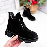 Ботинки женские Ryan черные Зима 2658, фото 7