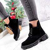 Ботинки женские Ryan черные Зима 2658, фото 6