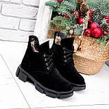Ботинки женские Ryan черные Зима 2658, фото 8