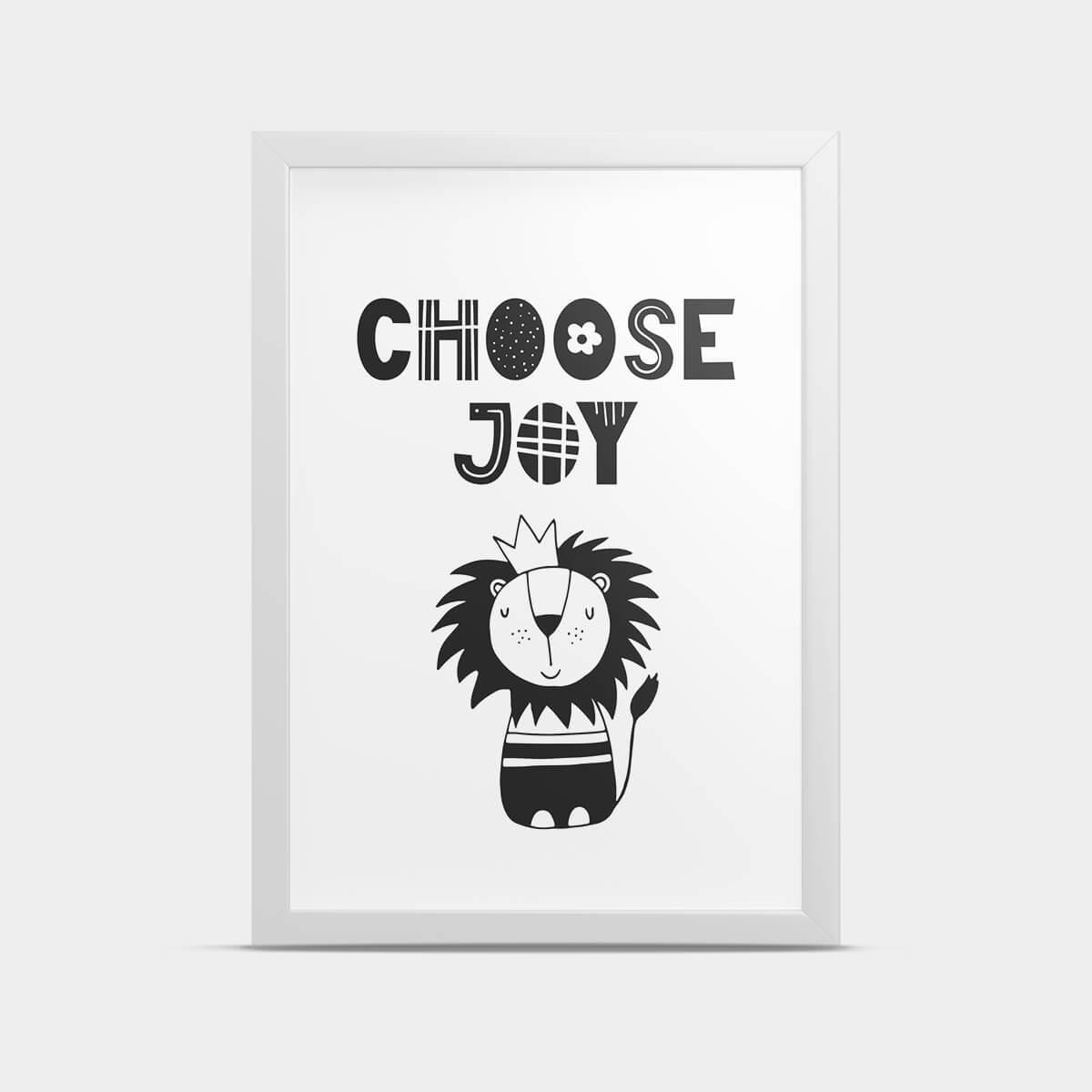 Постер Choose joy 30*40 см