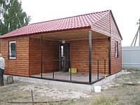 Построим офис, дачный домик, бытовку, баню, сауну, магазин за 5 дней