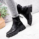 Ботинки женские Sharon черные ДЕМИ 2673, фото 2