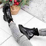 Ботинки женские Sharon черные ДЕМИ 2673, фото 3
