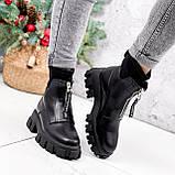 Ботинки женские Sharon черные ДЕМИ 2673, фото 5