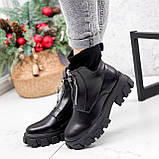 Ботинки женские Sharon черные ДЕМИ 2673, фото 10