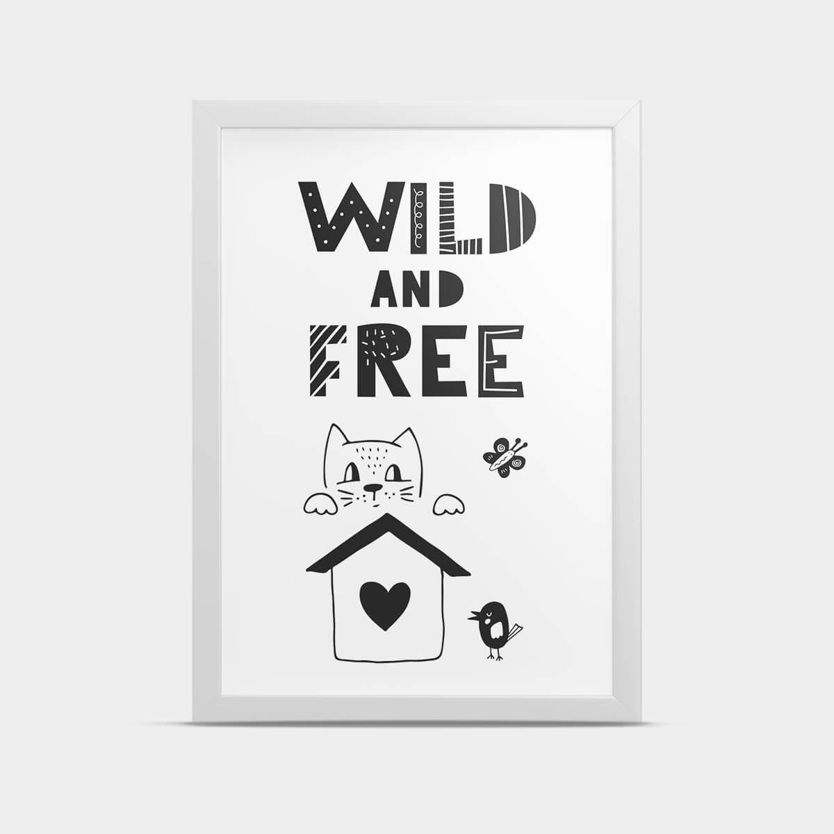 Постер Wild 30*40 см