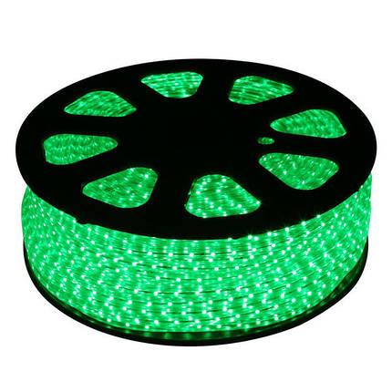 Led 5050 Green Зеленая 100m 220V 181208, фото 2