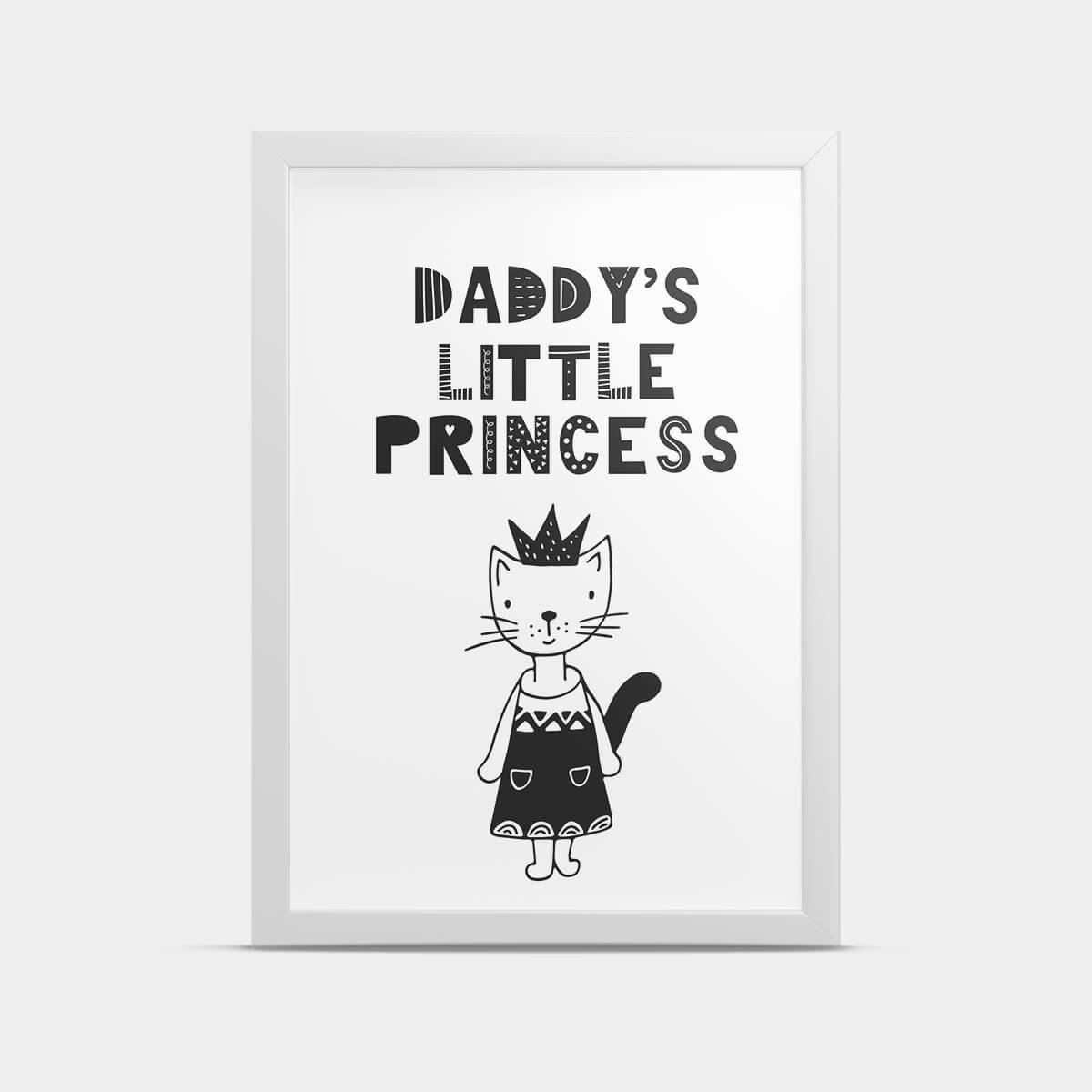 Постер Princess 30*40 см