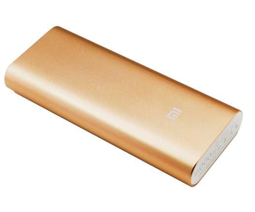 Внешний аккумулятор Power Bank 16000 mAh Золотой 183051