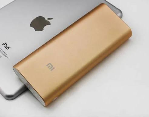 Внешний аккумулятор Power Bank 16000 mAh Золотой 183051, фото 2
