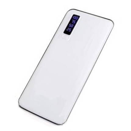 Портативная зарядка фонарик Smart Tech 50000 mAh PowerBank белый 183068, фото 2