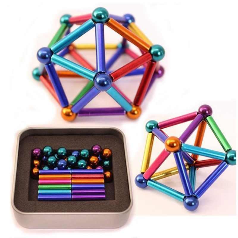 Магнитный конструктор Neocube Neo 45 деталей разноцветный 183144
