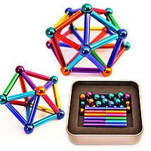 Магнитный конструктор Neocube Neo 45 деталей разноцветный 183144, фото 2
