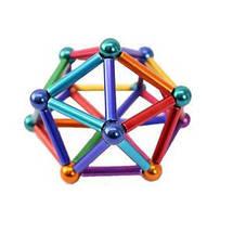 Магнитный конструктор Neocube Neo 45 деталей разноцветный 183144, фото 3