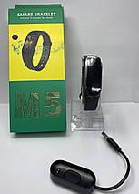 Фитнес браслет трекер часы, цветной экран M5 Fit Smart Bracelet black 181188, фото 3