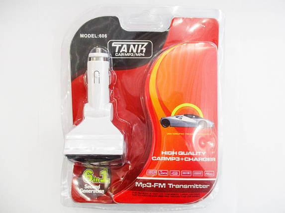 Авто модулятор Car MP3-FM Transmitter TK606 182560, фото 2